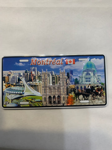 Skyline of Downtown Montreal Fridge Magnet