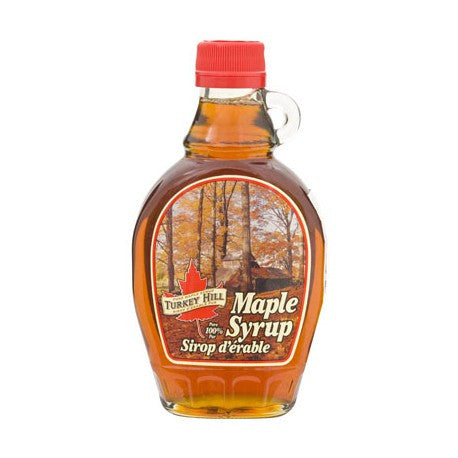 Turkey Hill 100% Pure Maple Syrup Glass Bottle - 250 ml