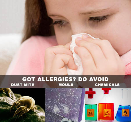 What to avoid when having allergies