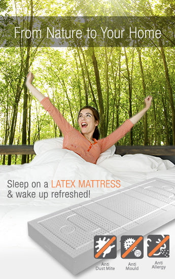 Latex mattress is mould resistant