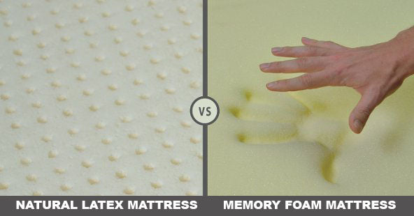 natural latex mattress vs memory viscoelastic foam mattress european bedding. Black Bedroom Furniture Sets. Home Design Ideas
