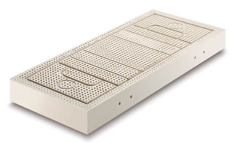 100% Latex Mattress Core With No Metal Coils Or Parts