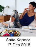 Anita Kapoor with Heveya organic latex mattress