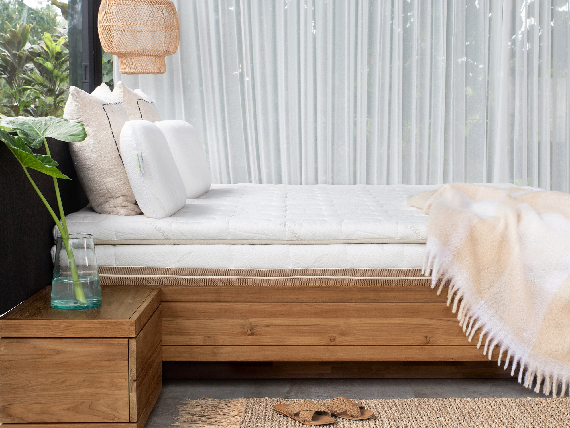 Heveya organic latex mattress 3