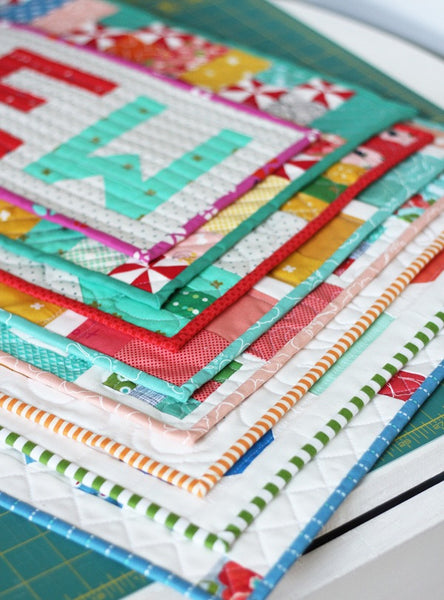 Mini Quilts Booklet, #160 PDF Pattern