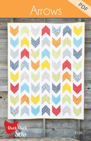 Arrows Quilt Pattern #128, PDF Pattern