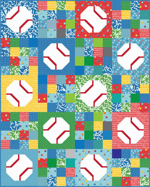 Batter Up #183,  PDF Pattern