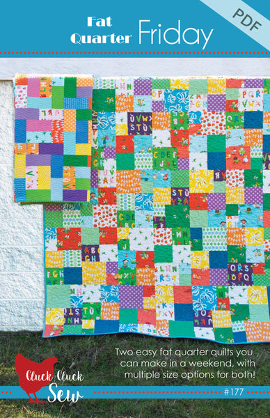 Fat Quarter Friday #177 PDF Pattern