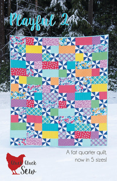 Playful 2 #169, Paper Pattern