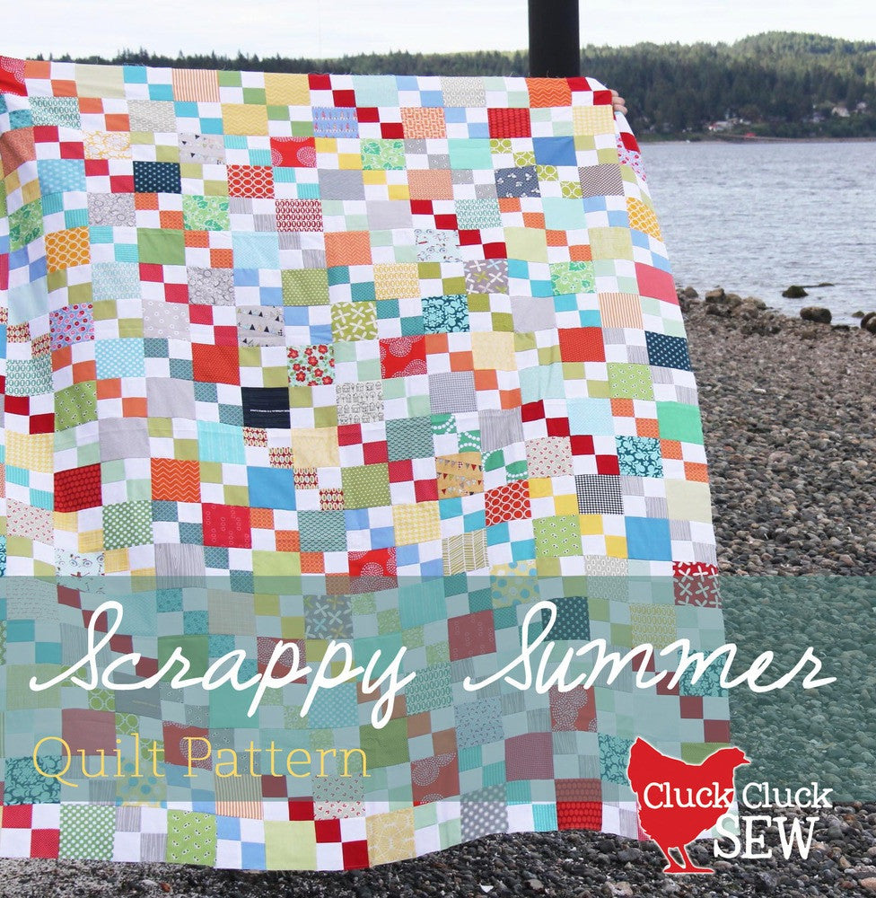 Scrappy Summer Quilt Pattern - PDF Only