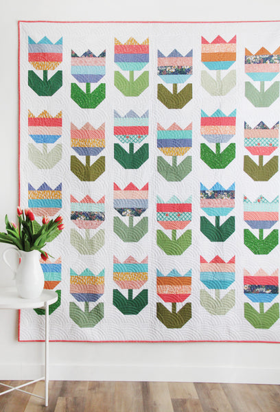 Tulips #200, Paper Pattern