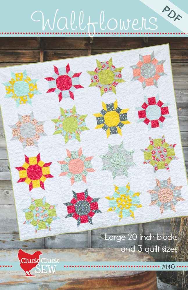 Wallflowers #140, PDF Pattern