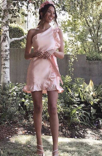COSENTINA DRESS - PEACH