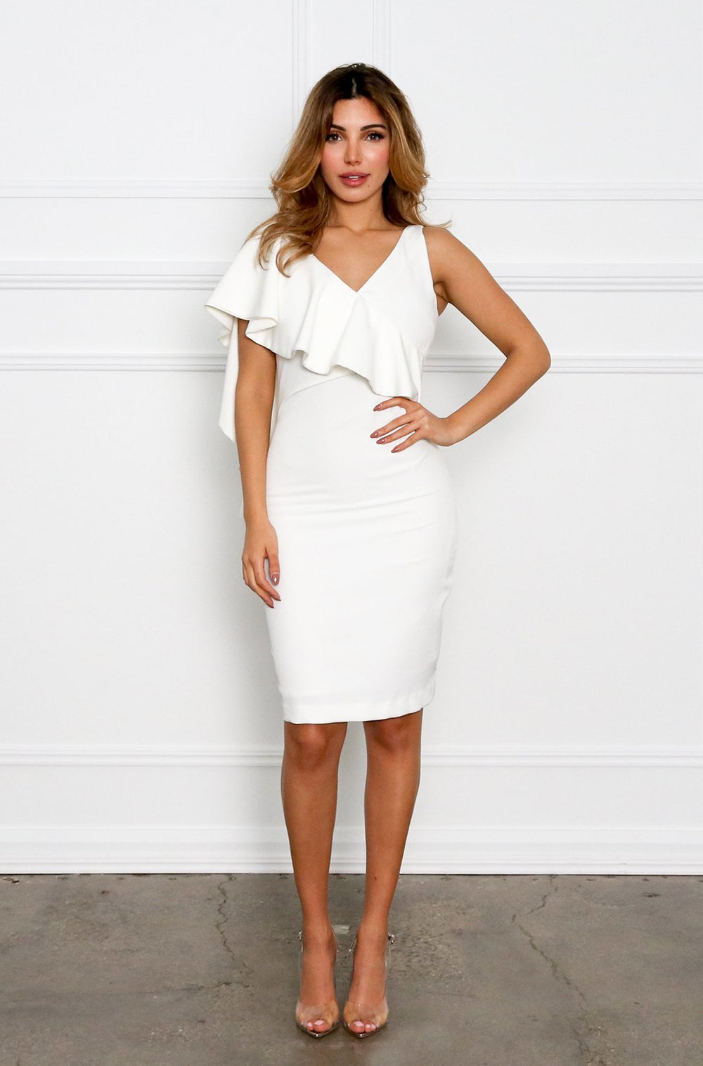 DESIE DRESS - WHITE