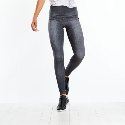 High Rise Denim Legging