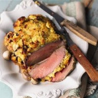 Roast Beef with Horseradish Crust