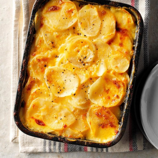 Simple Au Gratin Potatoes