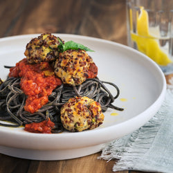 Live Fruitfully: Chicken, Zucchini & Quinoa Meatballs