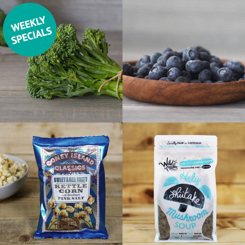 Weekly Specials & What's New This Week - 14.11.16
