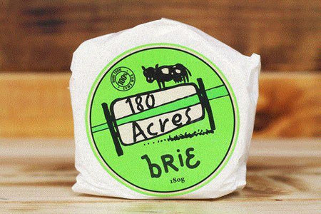 180 Acres Brie 180g* Dairy & Eggs > Cheese