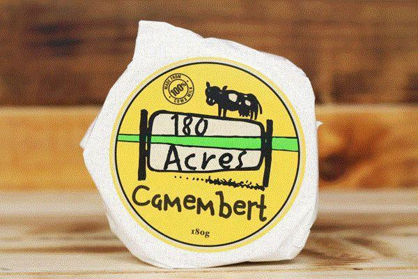 180 Acres Camembert 180g* Dairy & Eggs > Cheese