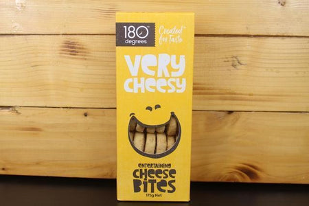 180 Degrees 180 Cheese Bites 175g Pantry > Biscuits, Crackers & Crispbreads