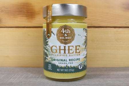 4th & Heart 4He Ghee Original 9oz Dairy & Eggs > Butter