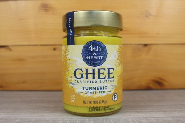 4th & Heart Ghee Turmeric 9oz Dairy & Eggs > Butter