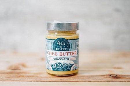 4th & Heart Himalayan Pink Salt Ghee Butter 9oz Dairy & Eggs > Butter