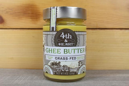 4th & Heart Madagascar Vanilla Bean Ghee Butter 9oz Dairy & Eggs > Butter