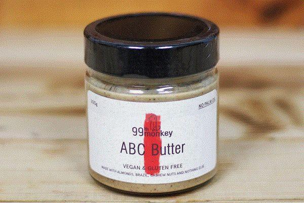 99th Monkey ABC Butter 200g Pantry > Nut Butters, Honey & Jam