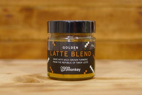99th Monkey Golden Latte Blend 90g Pantry > Drink Mixers & More