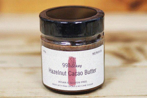 99th Monkey Hazelnut Cacao Butter 200g Pantry > Nut Butters, Honey & Jam