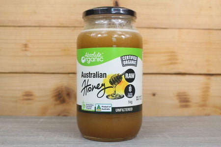 Absolute Organic Absolute Organic Australian Raw Honey 1kg Pantry > Nut Butters, Honey & Jam