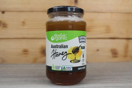 Absolute Organic Absolute Organic Australian Raw Honey 500g Pantry > Nut Butters, Honey & Jam
