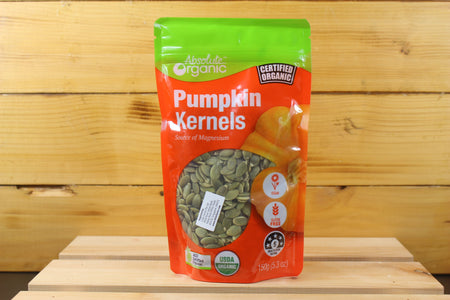 Absolute Organic AO Kernels Pumpkin (pepitas) 150g Pantry > Dried Fruit & Nuts