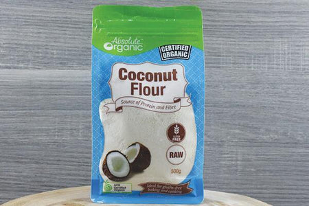 Absolute Organic AO Organic Coconut Flour 500g Pantry > Baking & Cooking Ingredients