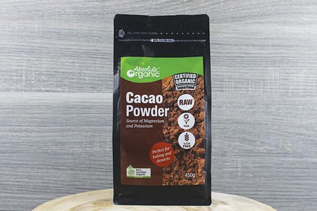 Absolute Organic AOr Org Cacao Powder 450g Pantry > Drink Mixers & More