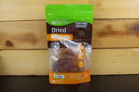 Absolute Organic Dried Mango 100g Pantry > Dried Fruit & Nuts