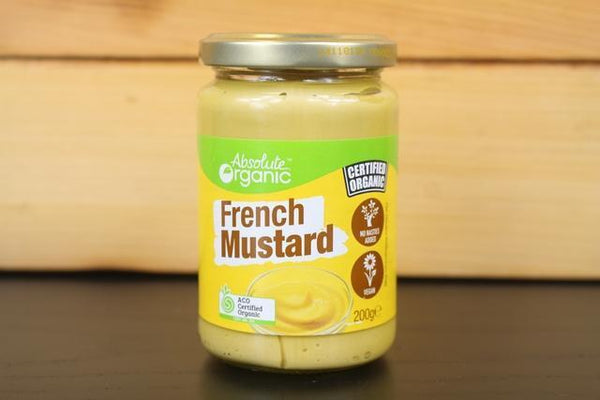 Absolute Organic Mustard French 200g Pantry > Pasta, Sauces & Noodles