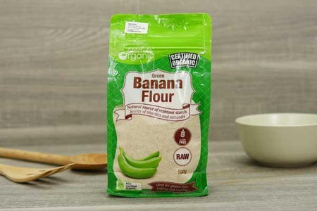 Absolute Organic Organic Banana Flour 500g Pantry > Baking & Cooking Ingredients