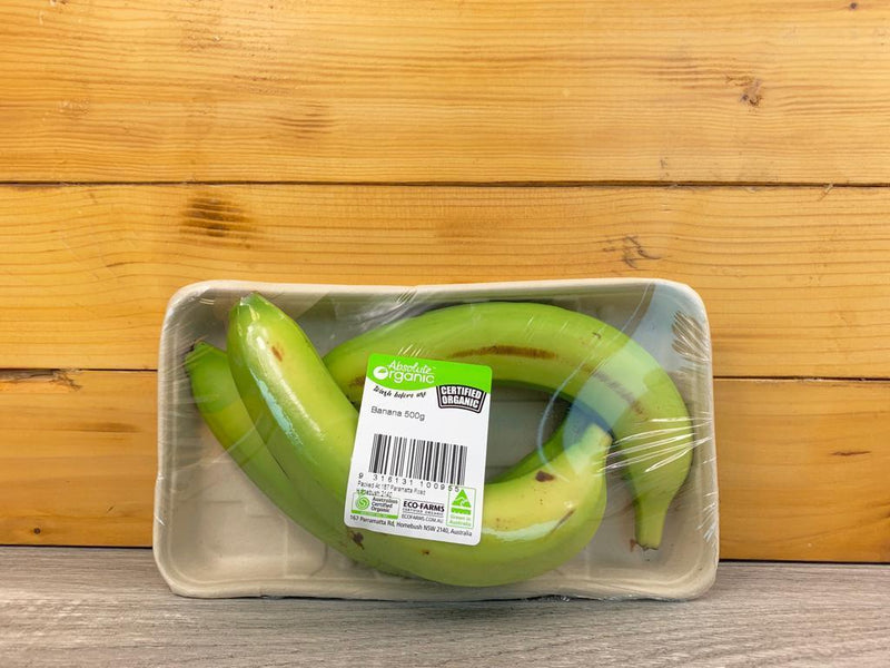 Absolute Organic Organic Bananas 500g Produce > Fruit