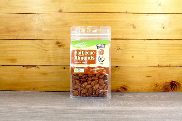 Absolute Organic Organic BBQ flavoured Almonds 250g Pantry > Dried Fruit & Nuts