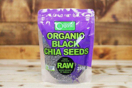 Absolute Organic Organic Black Chia Seeds 250g Pantry > Grains, Rice & Beans