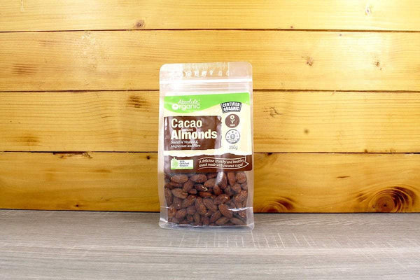 Absolute Organic Organic Cacao flavoured Almonds 250g Pantry > Dried Fruit & Nuts