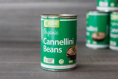 Absolute Organic Organic Cannellini Beans 400g Pantry > Canned Goods