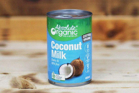 Absolute Organic Organic Coconut Milk 400ml Pantry > Baking & Cooking Ingredients