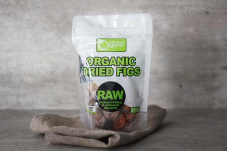 Absolute Organic Organic Dried Figs 250g Pantry > Dried Fruit & Nuts