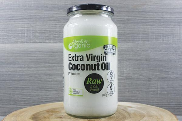 Absolute Organic Organic Extra Virgin Coconut Oil 900g Pantry > Dressings, Oils & Vinegars
