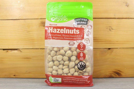 Absolute Organic Organic Hazelnut Roasted 250g Pantry > Dried Fruit & Nuts